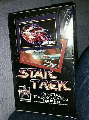 Star Trek 25th Anniversary Series II Factory Sealed Trading Card Box