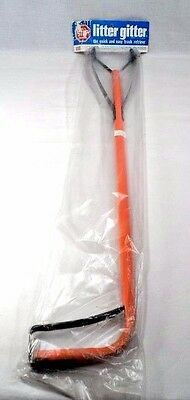 "NOS NEW 31"" Litter Gitter All Metal Reacher Grabber w/ Suction Cup Grip USA Made"