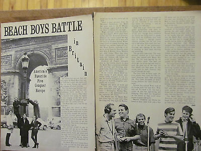The Beach Boys, Two Page Vintage Clipping