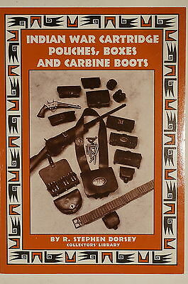 US Indian War Cartridge Pouches Boxes Carbine Boots Reference Book
