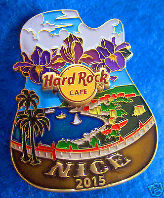 NICE FRANCE *ICON CITY SERIES 2015 ALPES COTE D'AZUR Hard Rock Cafe PIN LE