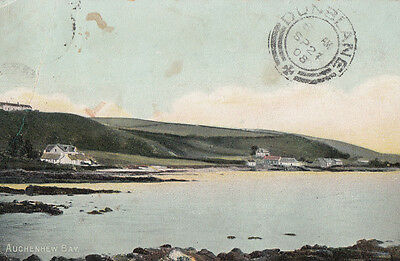 Auchenhew Bay Isle Of Arran Antique Postcard
