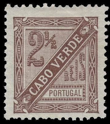 "CAPE VERDE P1 (Mi24A) - Numeral of Value ""Newspaper Postage"" (pa44044)"