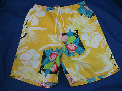 Vintage Boys Shorts 80's 100% Cotton MADE IN USA Sz. 12, Dated 1985