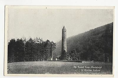 Ireland, The Round Tower, Glendalough, Co. Wicklow Postcard, A452