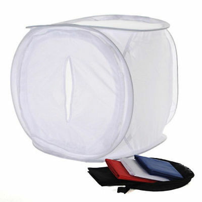 "50x50x50cm 19"" PHOTOGRAPHY LIGHTBOX PHOTO BOX STUDIO TENT CUBE SOFTBOX SOFT BOX"