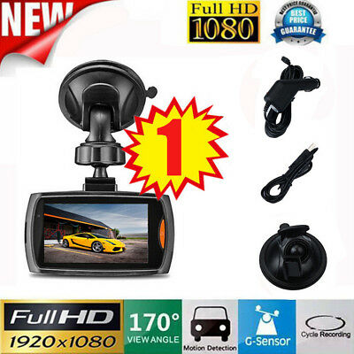 Car HD 1080P 2.4 Full HD DVR Vehicle Camera Dash Cam Video G-sensor Night Vision