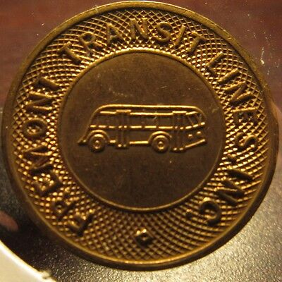 1946 Fremont, OH Transit Lines Inc. Bus Token - Ohio