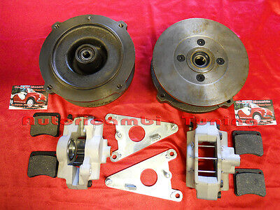 Fiat 500 F L R  Kit Freni A Disco Anteriori Abarth Attacco Originale