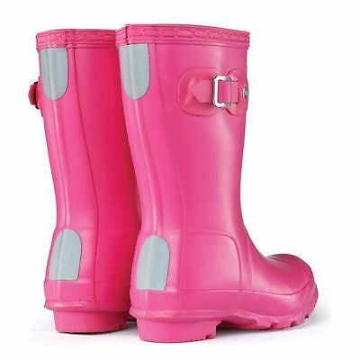 Hunter Kids Original Wellies Shoes Girls Wellingtons Horse Riding Equestrian