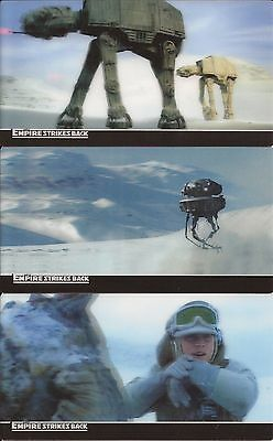Star Wars Empire Strikes Back 3D - Complete 48 Card Base Set