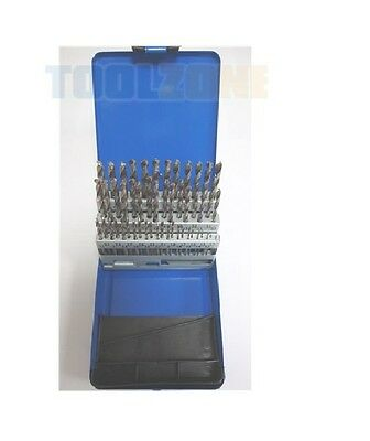 51 Piece Professional Engineers Hss Drill Bit Set 1-6Mm - Power tool accessory