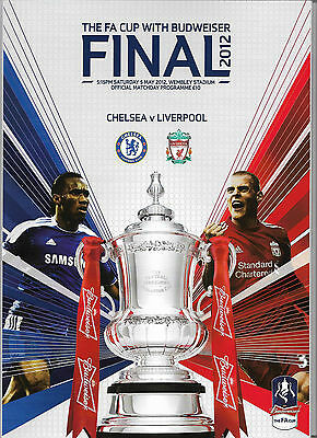 2012 FA Cup Final - CHELSEA v. LIVERPOOL official programme