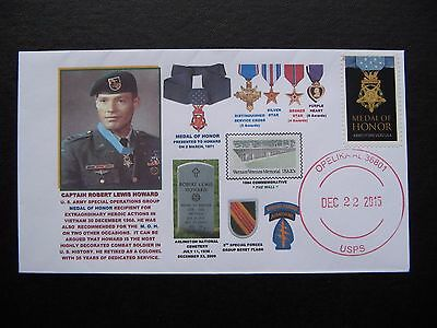 Most Decorated Grn.beret In Us History Robert L Howard, Medal Of Honor, 3 Rcmd