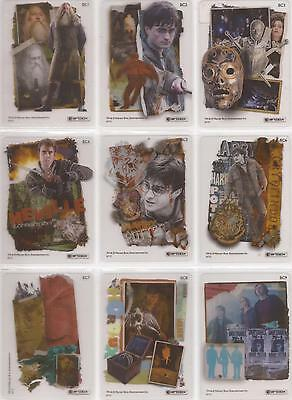 Harry Potter Deathly Hallows Part 2 - Clear 9 Card Chase Set BC1-9