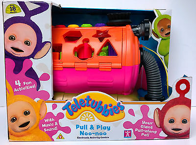 """Teletubbies 05976 """"Pull & Play Giant Noo-Noo"""" Toy (NEW WITH DAMAGED BOX)"""