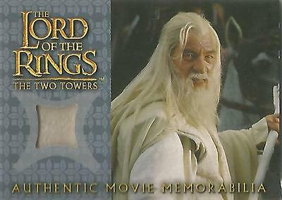 """Lord of the Rings Two Towers - """"Gandalf's Silk Shirt"""" Costume Card"""