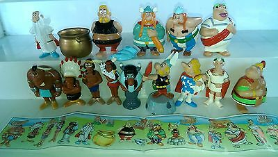 Asterix in America,  complete set with 4 different bpz, 2nd edition