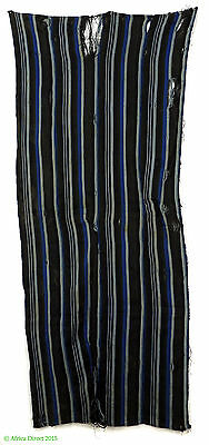 Indigo Textile Handwoven Cloth Dyed African Art SALE WAS $79