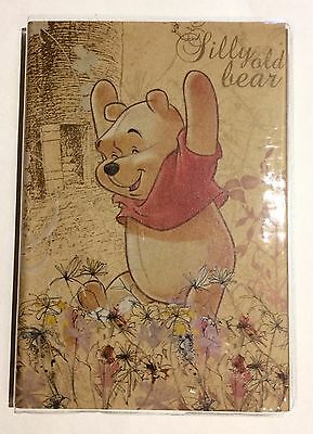 Disney Winnie the Pooh Address Book With Clear Protective Cover