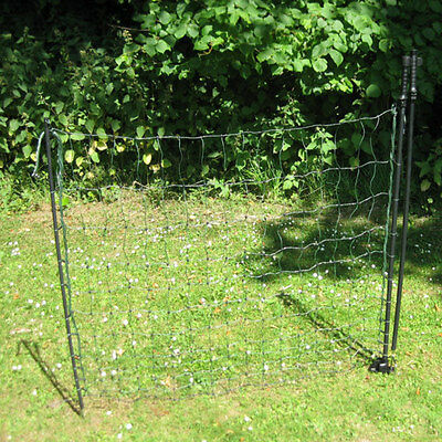 Electric Poultry Netting Gate - For Any Portable Mesh Fence - Goat or Chicken
