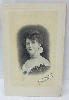 1905 May Robson Major Stage & Screen  19-20th c Actress CABINET PHOTO TRADE CARD