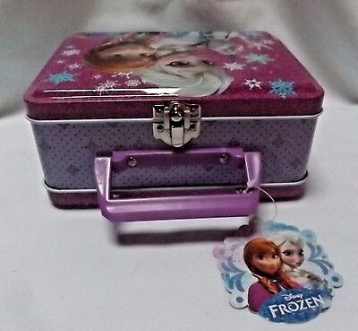 FROZEN Disney Metal Lunch Box - New With Tag
