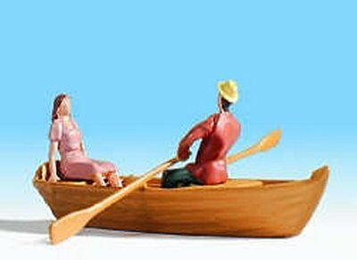 NOCH 16800 Rowing Boat with 2 Figures 00/H0 Model Railway