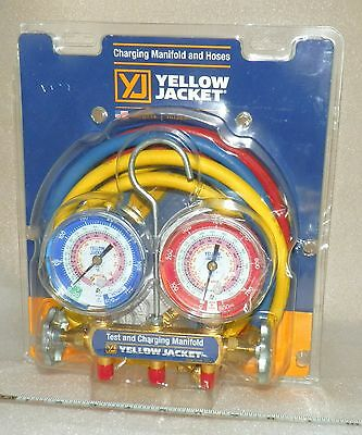 test & charging manifold gauges Ritchie Yellow Jacket 42004 refrigerant 2014