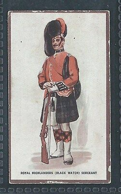 Hill Types Of The British Army Verbena No 12 Royal Highlanders Sergeant