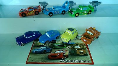 Cars Italien, Kinder, complete set with 1 bpz.