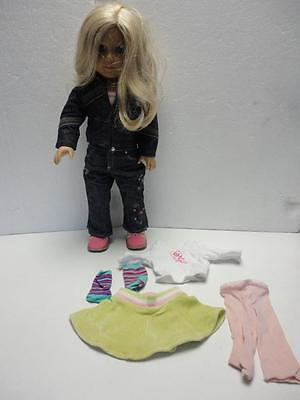 "American Girl 18"" Doll JUST LIKE TRULY ME with Extra Outfit Nice"