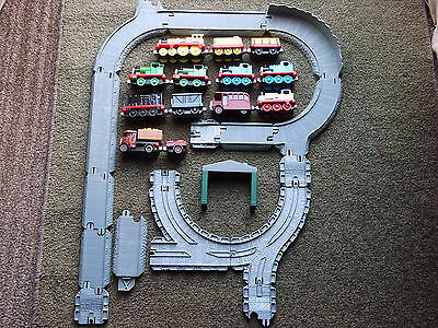 Learning Curve/mattel Take N Play Thomas Tank & Friends Diecast Trains & Track