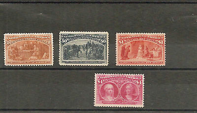 US Commemorative Collection Stamps MNH 1893-2006