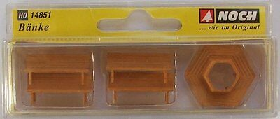 NOCH 14851 'Benches' 00/H0 Model Railway Accessories