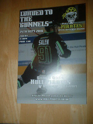 2016/17 Hull Pirates V Sheffield Steeldogs - English Premier Ice Hockey