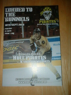 2016/17 Hull Pirates V Swindon Wildcats - English Premier Ice Hockey