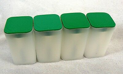 4 Empty Sae Silver American Eagle Coin Storage Tubes