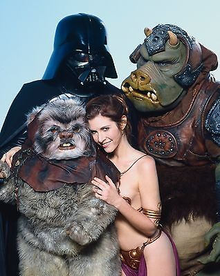 """Carrie Fisher 10"""" x 8"""" Photograph no 13"""