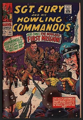 Sgt. Fury & His Howling Commandos #44 VG/F 5.0 Off White Pages