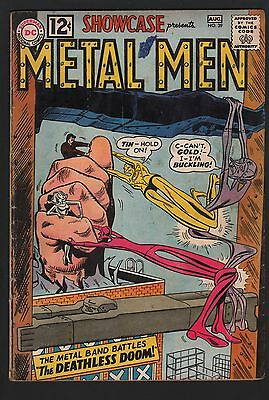 Showcase Comics #39 G 2.0 Cream to Off White Pages 3rd Metal Men