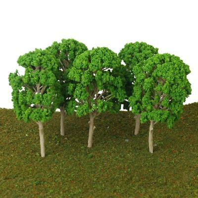 5x Model Mulberry Trees Architecture Train Railway Park Scenery Layout 15cm