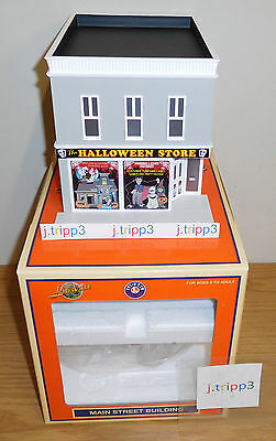 Lionel Halloween Store Shop 2-Story City Building Train Layout Accessory O Gauge