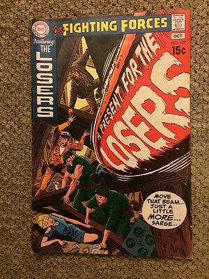 DC Comics Our Fighting Forces #127 Bronze Age 1970 The Losers