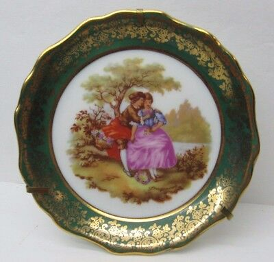 """Limoges 4 1/2"""" Small Plate (France)"""