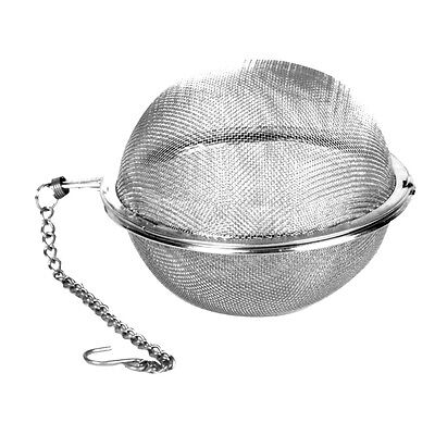 "1 Winco Mesh Tea Ball Teaball Spice Infuser 3"" STB-7 Pot Kattle NEW"