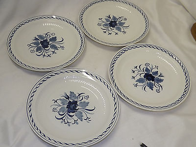 Adams Baltic Ironstone 4 Salad Plates