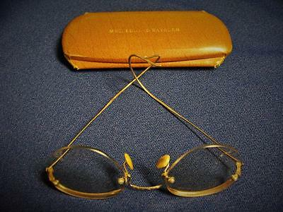 Antique Spectacles Eye Glasses 19Th Cent Steam Punk 1/10 12Kt Gold Filled