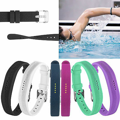 Sports Replacement Silicone Wrist Band Strap Bracelet  For Fitbit Flex 2 Tracker