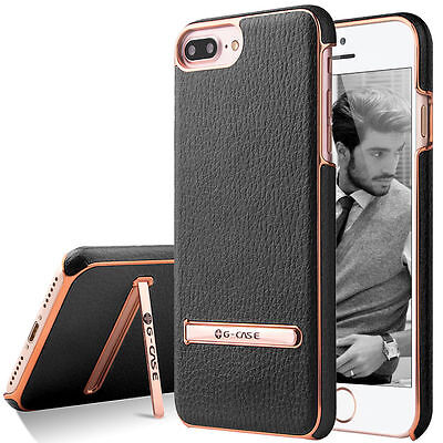 Fashion Leather Ultra Thin Back Stand Case Cover for iPhone 6 6s 7 Plus Luxury